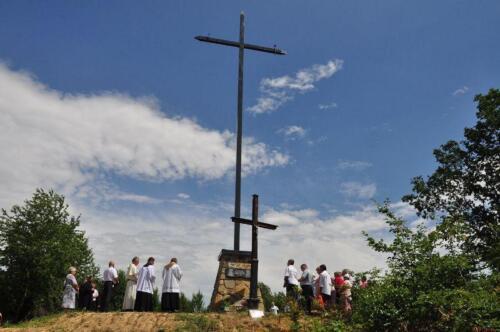 Poświęcenie krzyża 2018